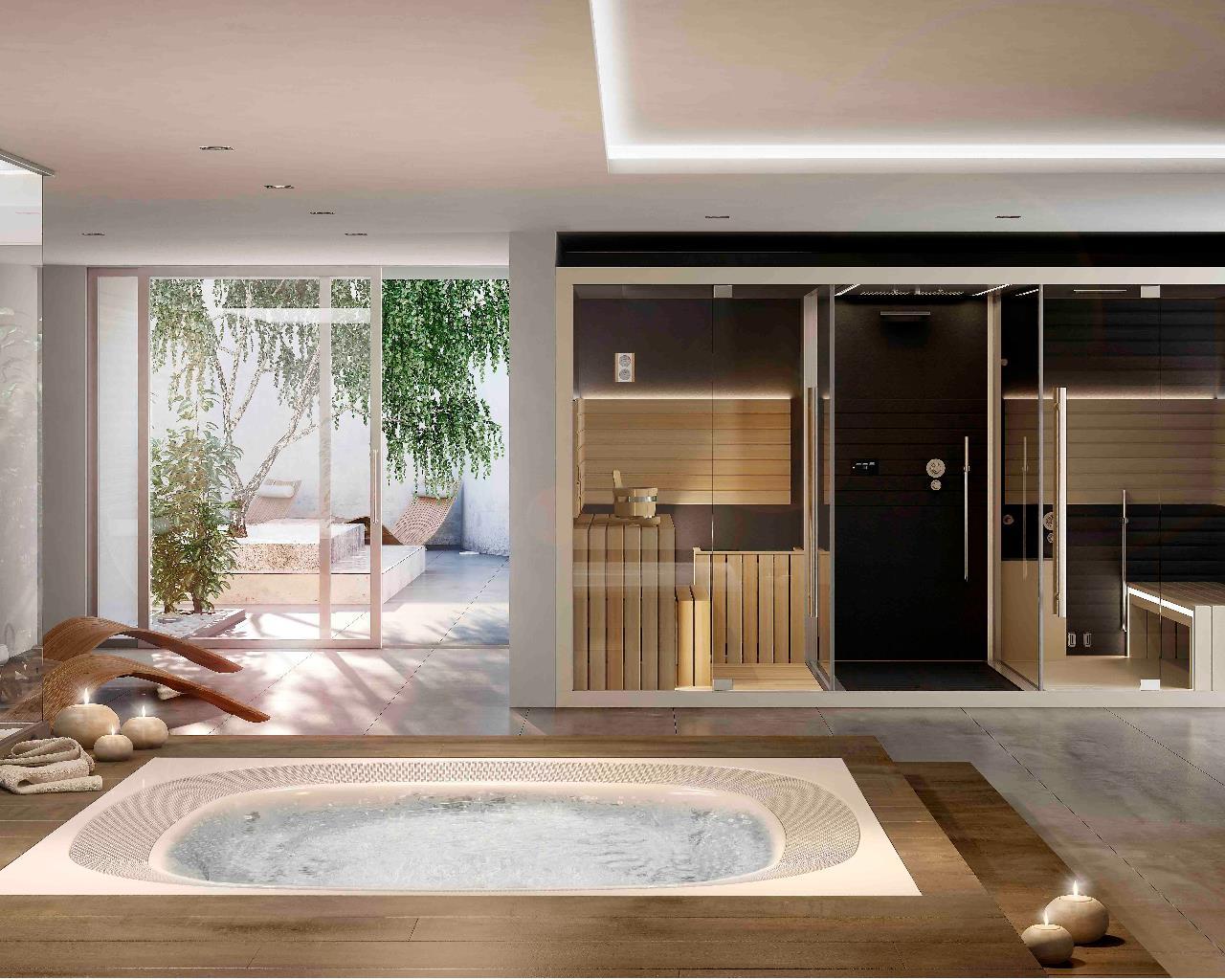 Bagno Esterno In Giardino jacuzzi® piscine o minipiscine - aquazzura per la tua casa